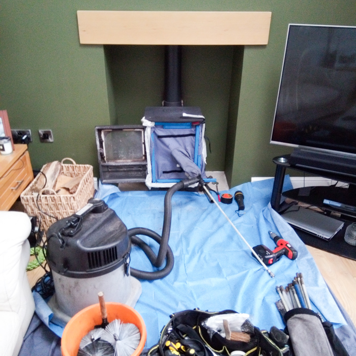 stove servicing multi stove open fire chimney sweep bolton horwich wigan